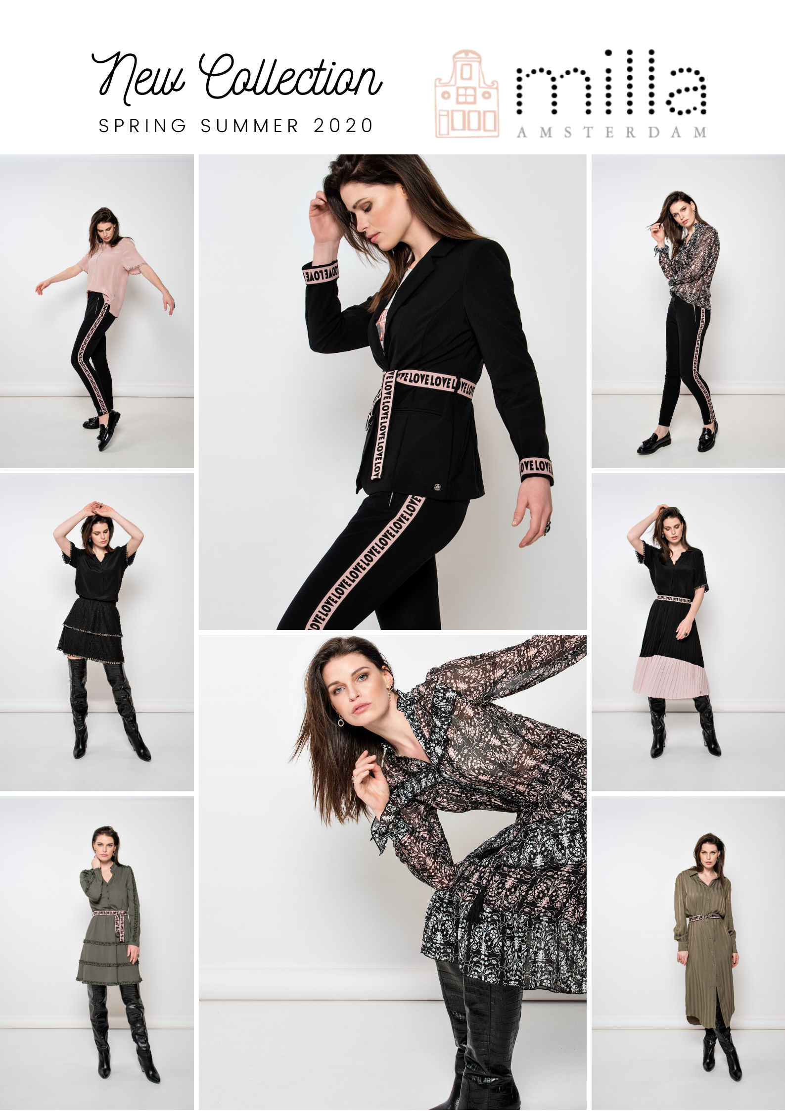 New Collection | MILLA AMSTERDAM | Spring Summer 2020