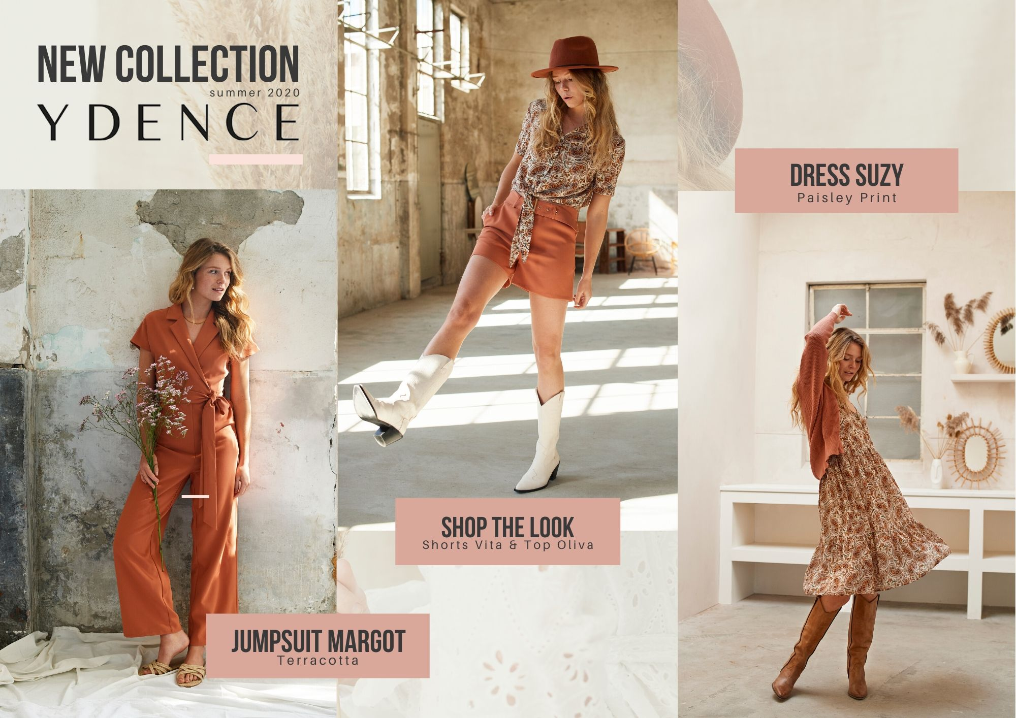 YDENCE New Collection High Summer 2020