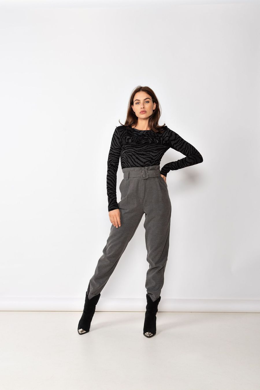 Milla Pax Pants Antracite