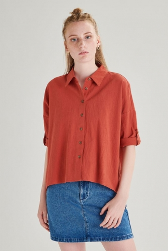 24COLOURS Shirt Rood