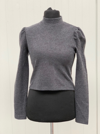 24Colours Knitted Sweater gray Puff