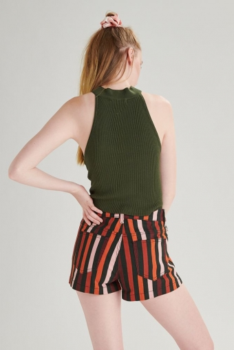 24COLOURS Shorts striped 60431