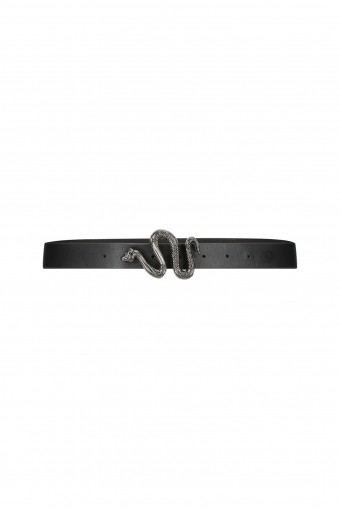 Milla Ashley Belt - Black Silver