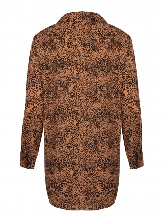 Ydence Blouse Amber Leopard