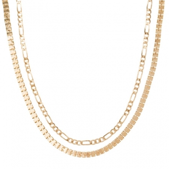 Box Chain Choker Set - Club Manhattan