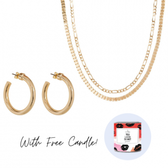 Club Manhattan Set with TGL candle lola & Box chain