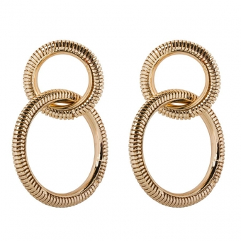 Double Snake Hoops - Club Manhattan