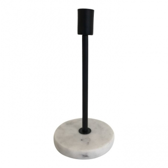 Housevitamin Candleholder marble 10x10x21