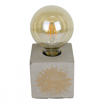 HOUSEVITAMIN BLOCK LAMP GOLDEN SPARKLE