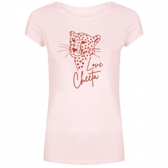 CHEETAH TEE PINK - FOREVER FRIDAY