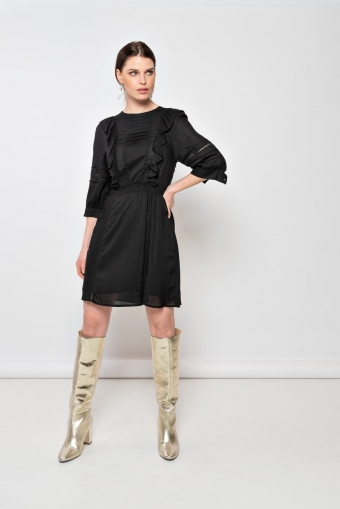 Milla Amsterdam Dalia Dress Black