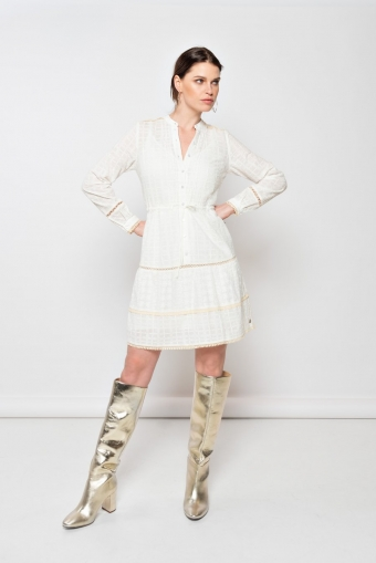 Milla Amsterdam Dianne Dress White