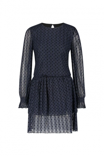 Milla Delia Dress Dark Blue