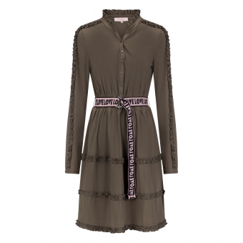 Milla Amsterdam Dane Dress - Army Green