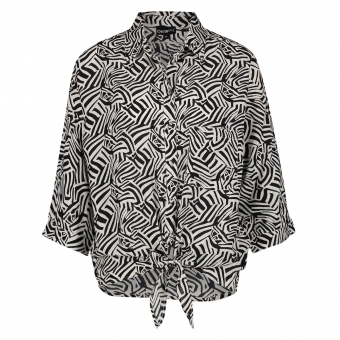 OSCAR & JANE Blouse Laurie Graphic Zebra