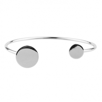 Solar Cuff silver - Club Manhattan