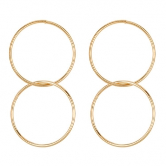 Statement Innercircle Hoops gold - Club Manhattan