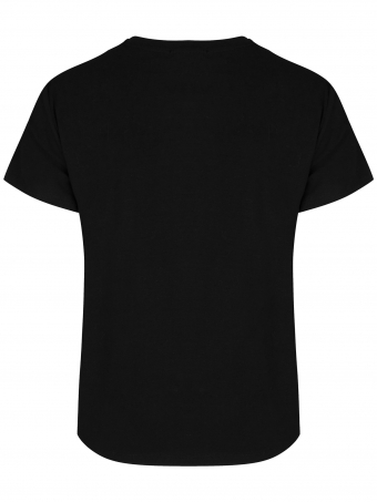 Ydence T-shirt Hey Babe Black
