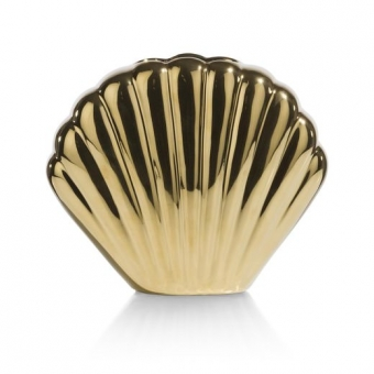 Vaas Shell Gold S H 15 CM