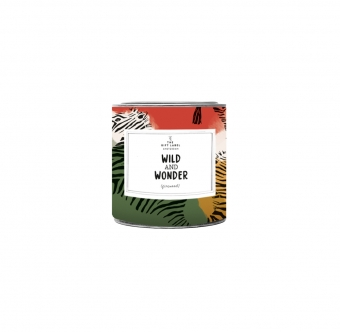 The Gift Label Small Candle Tin Wild And Wonder